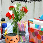 5 Tips To Create A Glamping Kitchen +9 Great Camping Projects