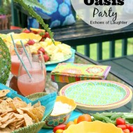 A Beautiful Outdoor Oasis Party