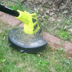 Make Yard Work Easier with the Ryobi 18V ONE+™ Hybrid String Trimmer From Home Depot