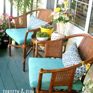 Front Porch Makeover 2014
