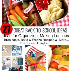 27 Amazing Back To School Ideas