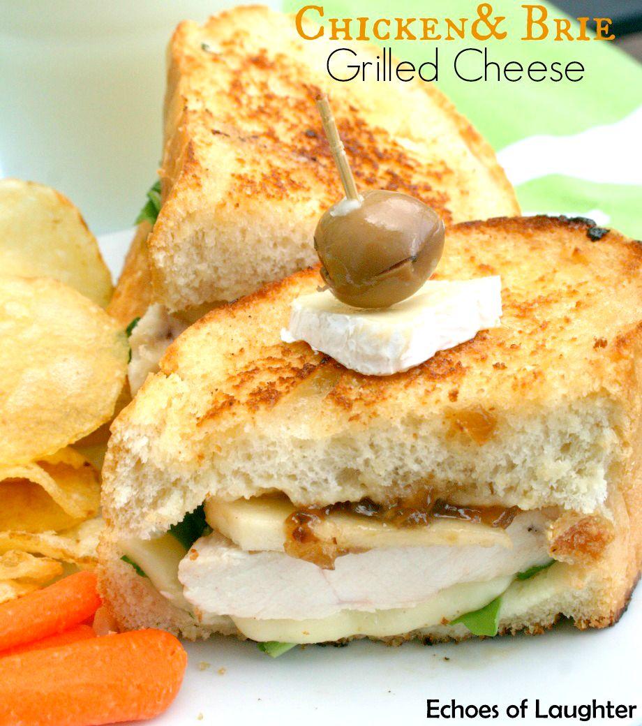 Chicken & Brie Grilled Cheese