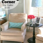 A Cozy Reading Corner For Under $100