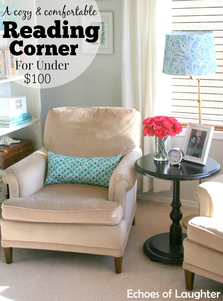 A Cozy Reading Corner For Under 100 Echoes Of Laughter