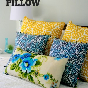 Vintage Fabric Pillow
