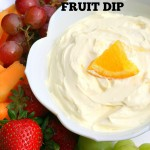 Creamy Orange Fruit Dip {Easy Recipe for Kids!}