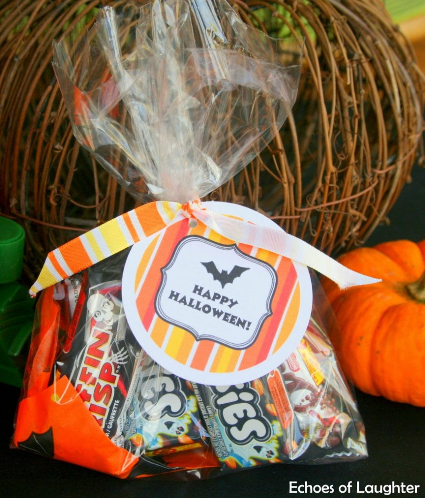 Happy Halloween Treat Bags Free Printable Labels Echoes Of Laughter