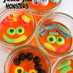 Halloween Jello Jar Monsters and More Great Halloween Ideas!