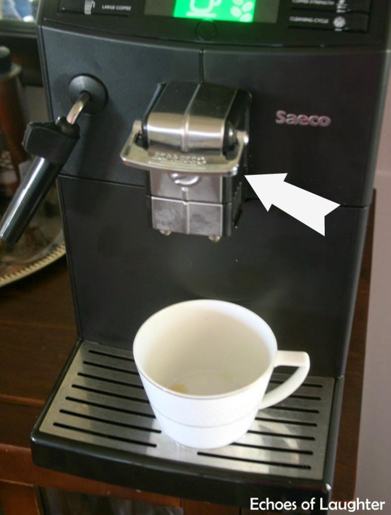 saeco minuto focus coffee and espresso machine