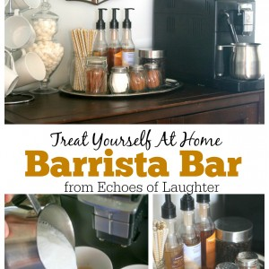 Make An At Home Barista Bar