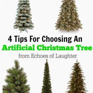 4 Tips for Choosing an Artificial Christmas Tree