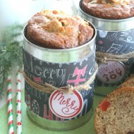 Christmas Bread Gift Tins