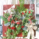 Rustic Christmas Window Box