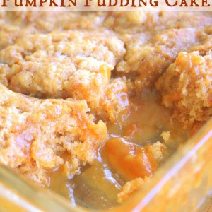 Easy & Delicious Pumpkin Pudding Cake