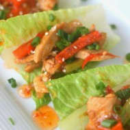 Chicken Stir Fry Lettuce Wraps