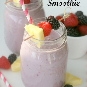 Berry &  Pineapple Protein Smoothies
