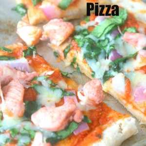 Easy Chicken Tandoori Pizza