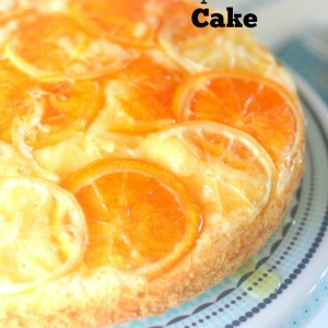 Delicious Citrus Upside Down Cake