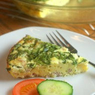 Crustless Egg & Ham Quiche