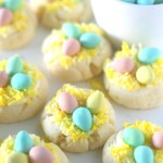 Nest Cookies For Easter