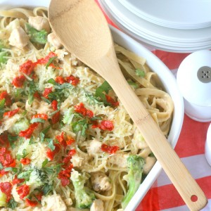 Chicken & Broccoli Alfredo