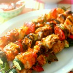 Asian Sweet & Spicy Chicken Skewers