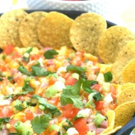 Scrambled Eggs Breakfast Nachos