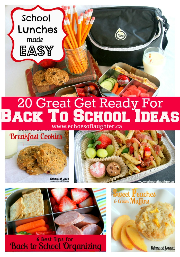 20 Back To School Ideas