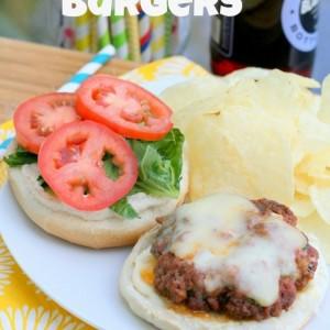 Easy Tandoori Beef Burgers