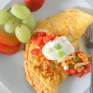 5 Minute Mexican Omelette +Burnbrae Farms $25 Coupon Giveaway!