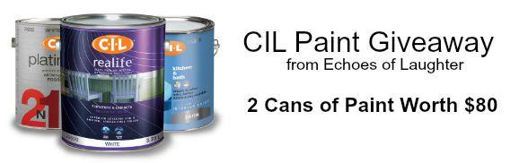 CIL Paint Giveaway