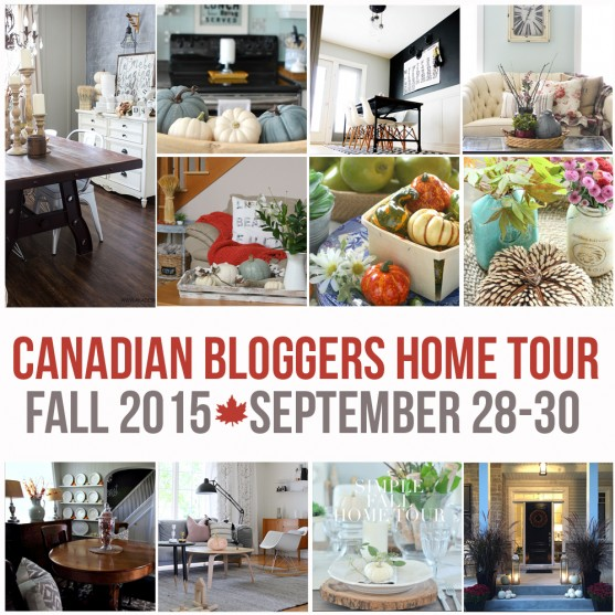 Canadian Bloggers Home Tour Fall 2015
