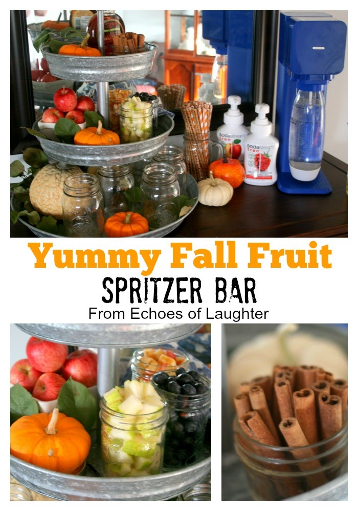Fall Fruit Spritzer Bar