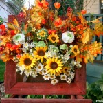 Rustic Fall Box Wreath +13 Other Inspiring Wreaths
