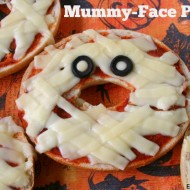 Mummy-Face Pizzas (win a $100 Loblaws GC Canada)