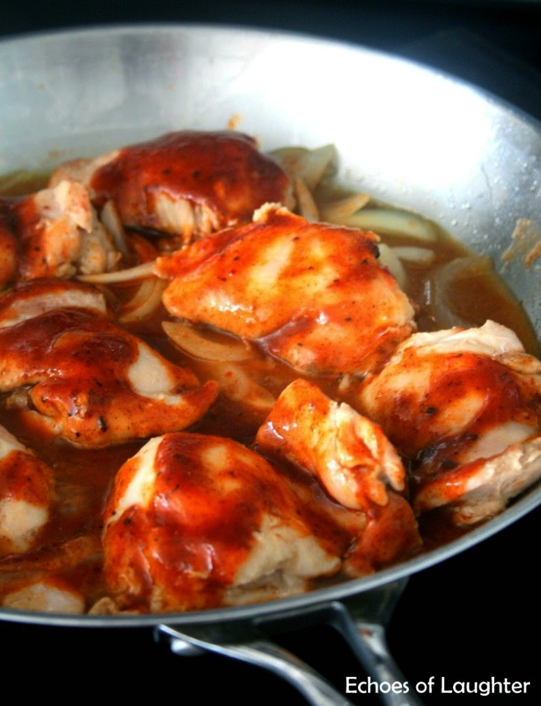 Easy Skillet BBQ Chicken 5