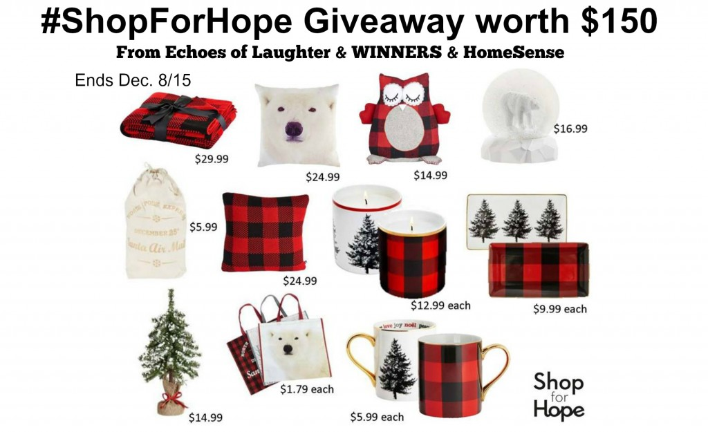 Shop For Hope Giveaway