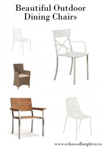 Beautiful Outdoor Dining Chairs