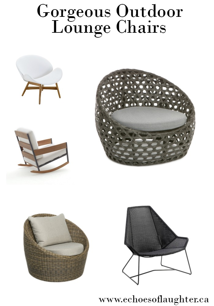 Gorgeous Outdoor Lounge Chairs