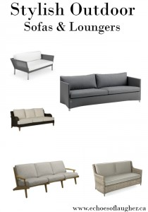 Stylish Outdoor Sofas & Loungers