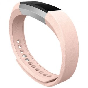 Fitbit alta blush leather band